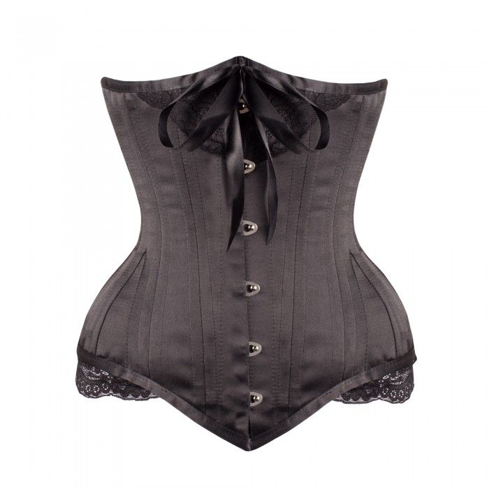 € 115,00  http://www.corset-story.nl/black-vintage-bow-victorian-underbust-corset-nd-150-black.html
