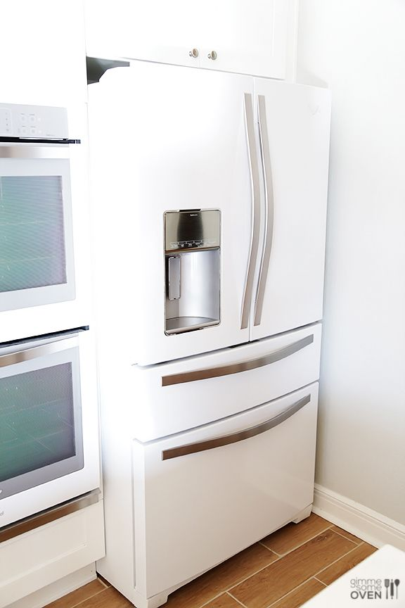 25 Best Ideas About White Refrigerator On Pinterest