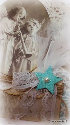 Vintage Angel Card
