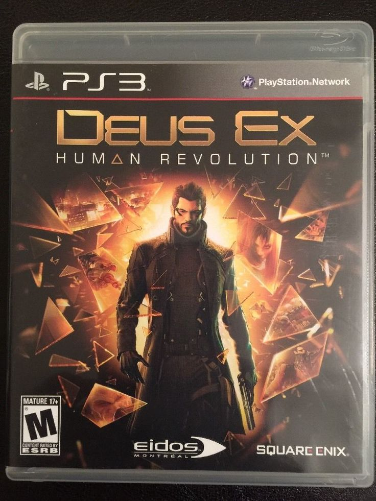 Deus Ex: Human Revolution (Sony PlayStation 3, 2011) 662248910192 | eBay