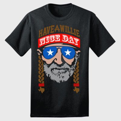 Willie Nelson Outlaw T-shirts available in Mens and Women's sizes by DramaPatrol on Etsy https://www.etsy.com/listing/240126403/willie-nelson-outlaw-t-shirts-available