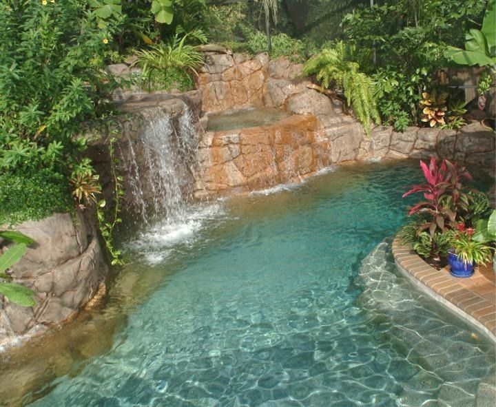 Lazy River. Pool Design Ideas Oasis Outdoor 720×591 Pixels