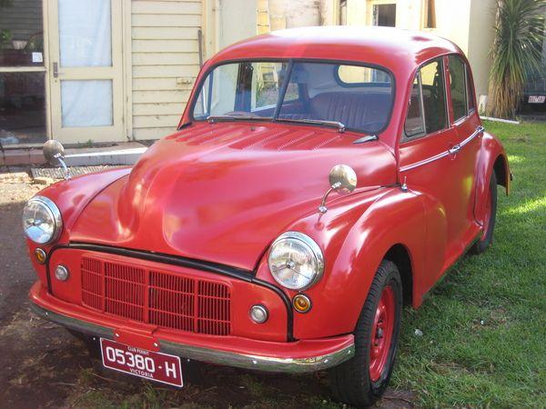 1953 MORRIS MINOR MM $4400