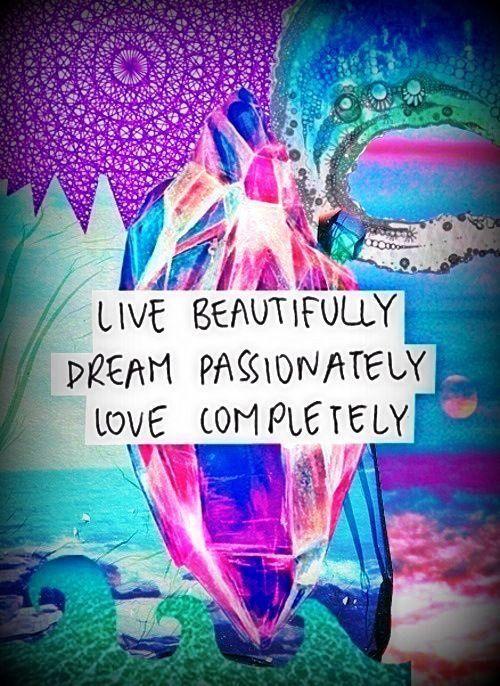 Live, dream, love. #live #dream #love #enlightenment #spiritual #faith #positivevibes #goodvibes #healing #love #abundance #awareness #awakening #lifepurpose #powerthoughtsmeditationclub