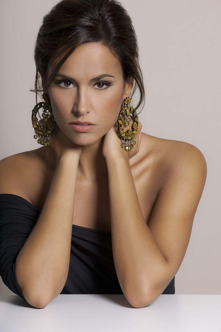 #Shooting della nostra #testimonial, Michela Coppa, bijoux  #EXPLORIA, #Collezione #FW13-14