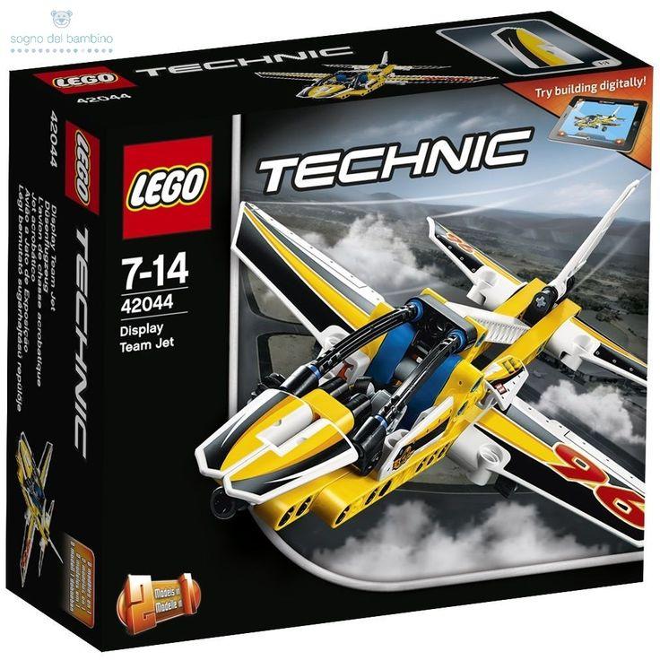 LEGO TECHNIC JET ACROBATICO 42044