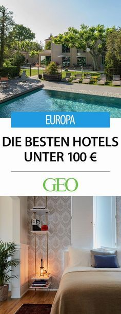 The best hotels under 100 euros in Europe