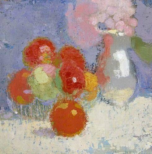 Helene Schjerfbeck - Red Apples 1915