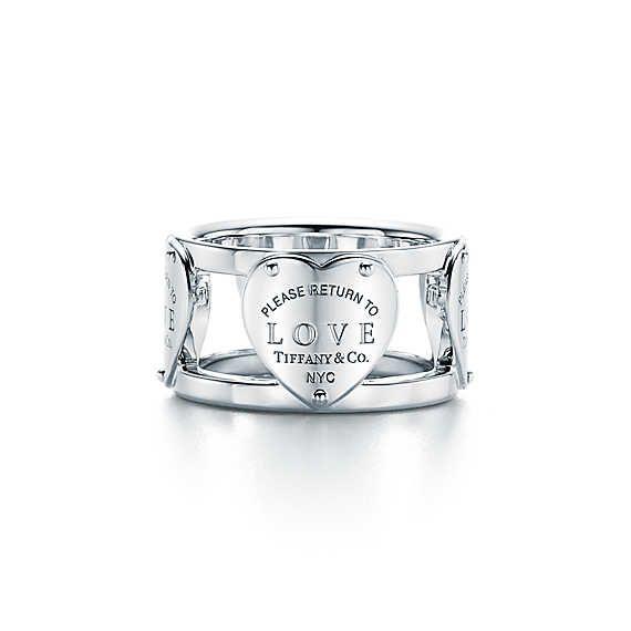 Anello Love Return to Tiffany™ in argento.