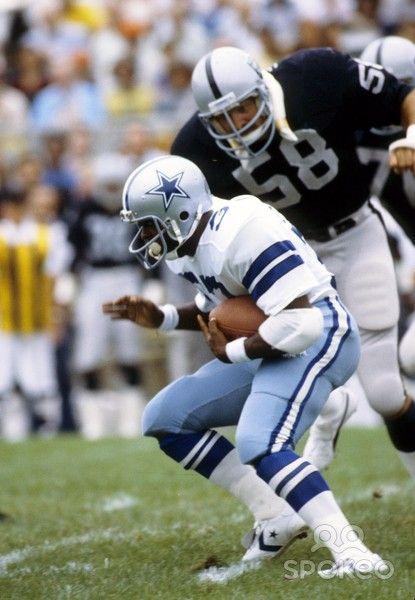 monte johnson oakland raiders | ... Oakland Raiders linebacker Monte Johnson (58) during the 1979 Hall of
