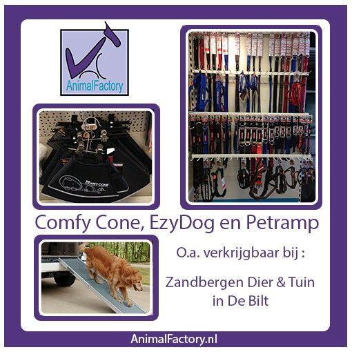 Kijk voor meer verkooppunten op animalfactory.nl #comfycone #ezydog #quick-fit #doubleup #halsband #zandbergen #hondenloopplank #hond #animalfactorynl