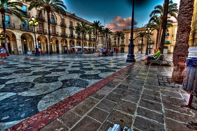 Plaça de la Vila - Vilanova i la Geltrú (Penedès) (Catalunya) (España) (Europa)