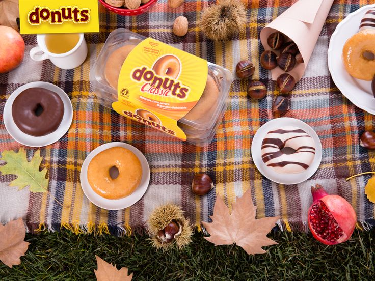 É dia de juntar Donuts e castanhas…