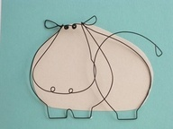 Ijzerdraad nijlpaard