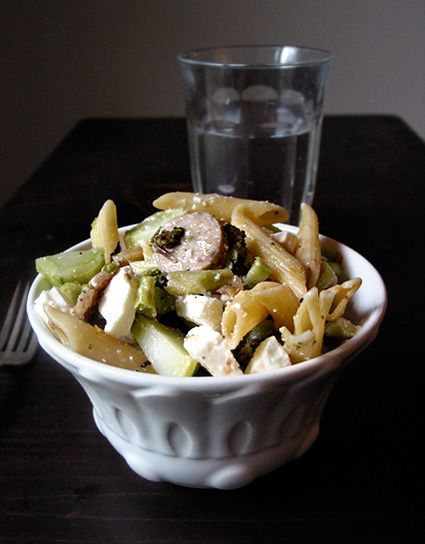 Pasta with Feta, Broccoli, and Sausage.: Food Recipes, 2008 10 08 Pasta Jpg, Feta Broccoli, Sausages Feta, Dinners Recipes, Dinners Quick, Pasta Dishes, Pasta Sausages, Sausages Recipes
