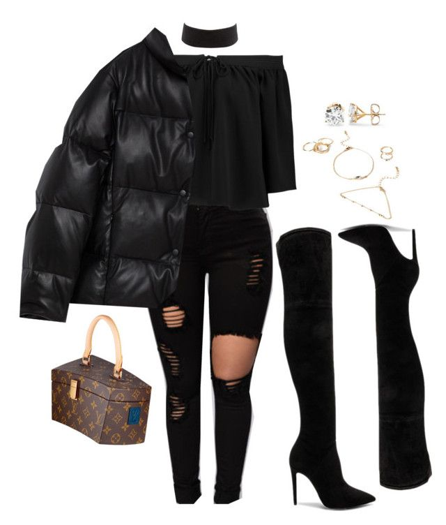 """""""Untitled #2445"""" by mrkr-lawson ❤ liked on Polyvore featuring Elizabeth and James, Charlotte Russe, Kendall + Kylie and Forever 21"""