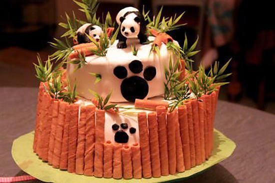 recette Gateau panda