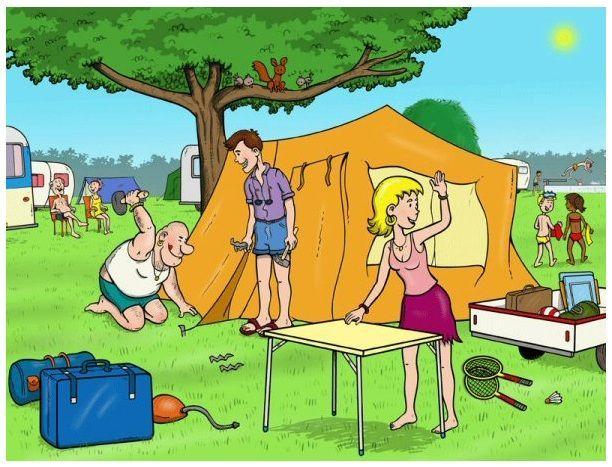kamperen praatplaat