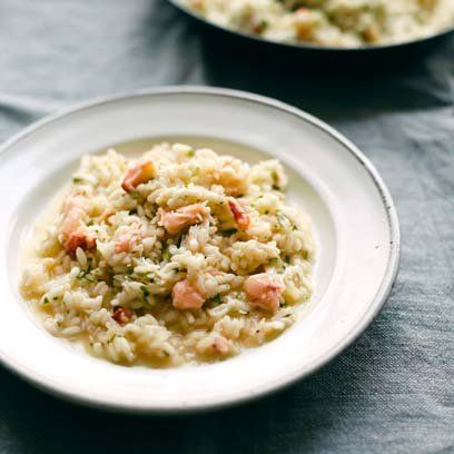Gino D'Acampo's crab risotto recipe. For the full recipe, click the picture or visit RedOnline.co.uk