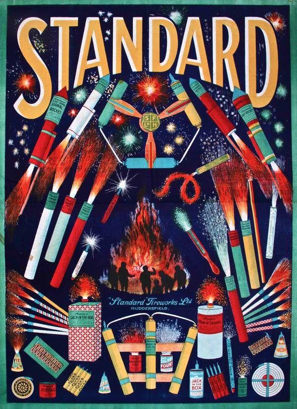 Standard Fireworks at Spitalfields Life