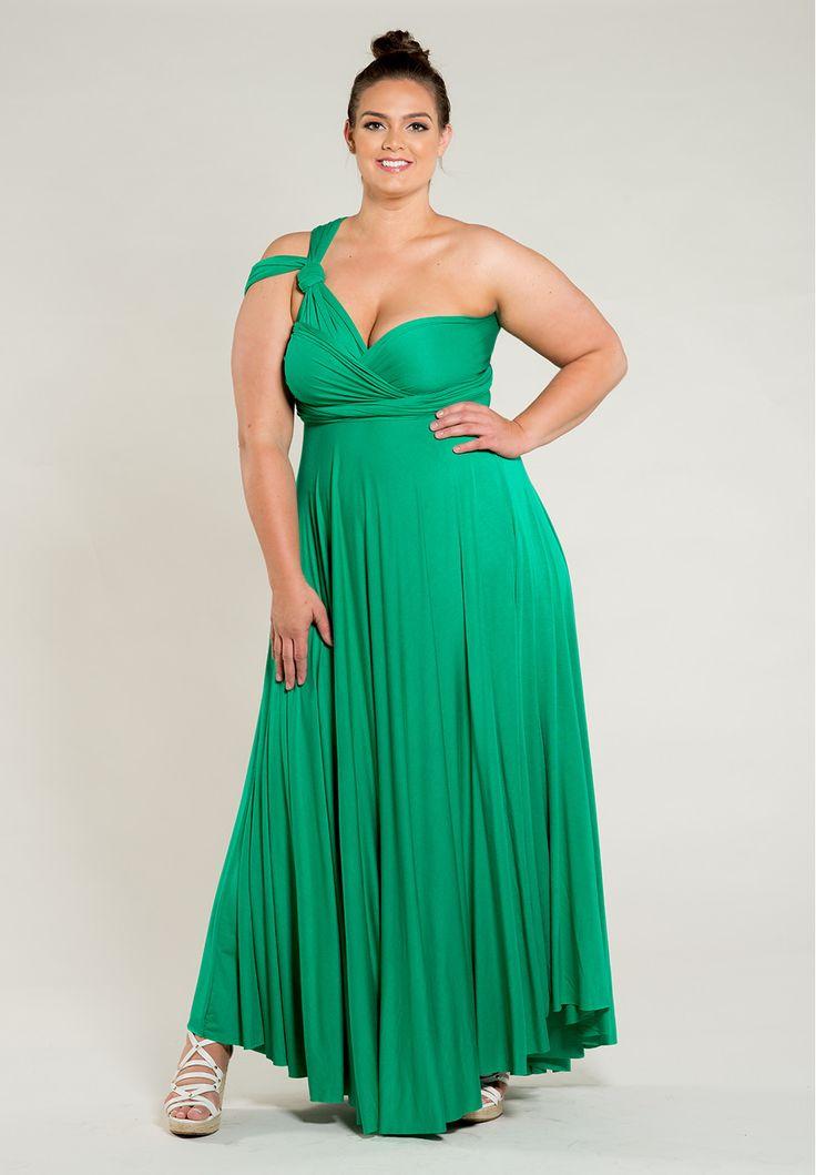 Eternity Convertible Maxi Dress - Green