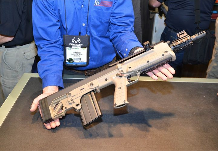 The Kel Tec Rfb Is A Bullpup Carbine In 308 2012 Arms