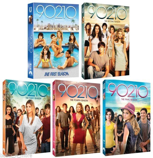 90210 Complete Series Collection (Season 1-5) DVD Set