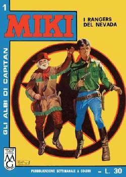 Gli albi di Capitan Miki n.1