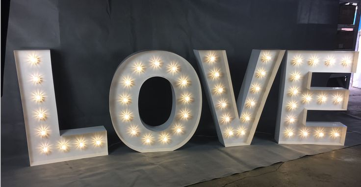 Light Up love Letters / numbers / Love Heart Arch for Hire at https://www.lightuplettersbali.com/