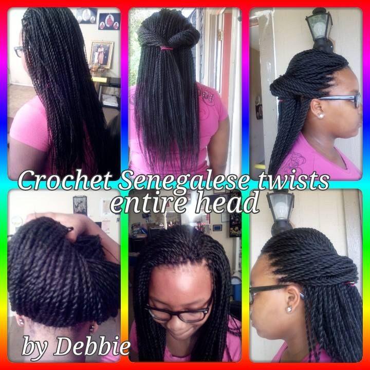 Crochet Senegalese Twists