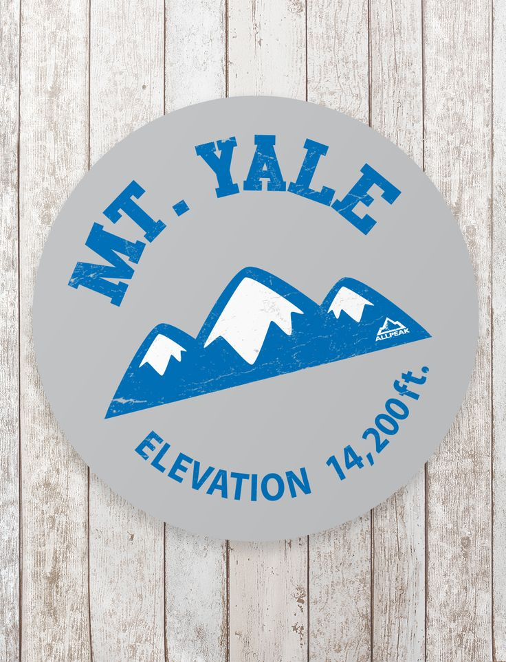 Mount yale sticker