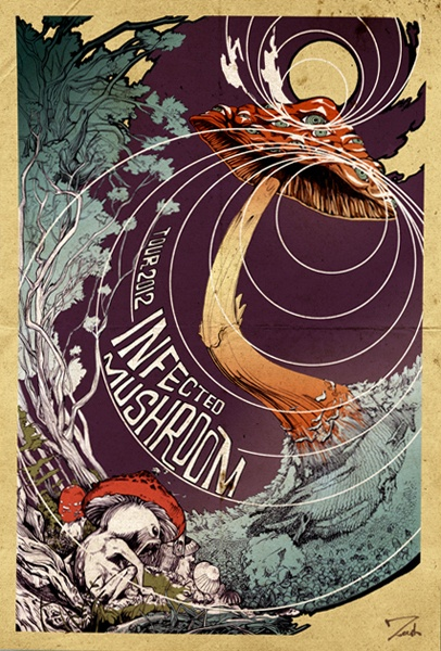 GigPosters.com - Infected Mushroom
