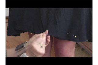 How to Shorten a Dress With a Circle Skirt