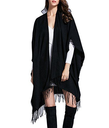 Yw Chan Can Women's Knit Cashmere Shawl Scarf Cardigans S...