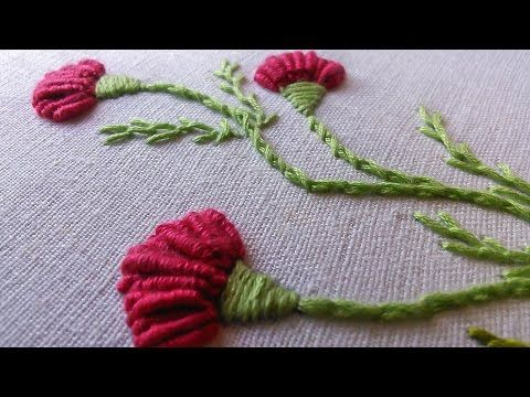 Learn how to stitch a rose using the woven wheel stitch with Kayla of Knotty Dickens. ***6 strands of embroidery floss are being used here in this video.*** Make sure to subscribe to see all the new tutorials. Shop and Blog at: www.knottydickens.com Fol
