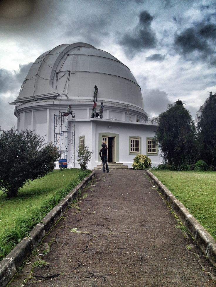 Bosscha Observatory, Lembang - West Java, Indonesia.