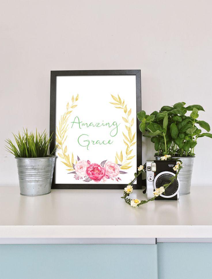 Amazing Grace Wall Decor 13 best amazing grace printable wall art images on pinterest