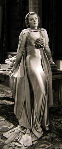 Myrna Loy as Annemarie, photo by Stamboul Quest, Costume design by Dolly Tree, Directed by Sam Wood, 1934