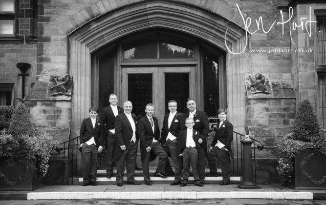 Groomsmen. Suits. Groom, Bestman and Ushers Photo.
