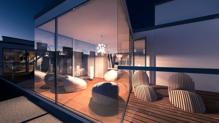 windows, rendering, night, dusk, archiecture, design, furniture, livingpool architektur, zen-architecture,  glass, vienna, project #artlantis #artlantis6 #photoshop #archicad