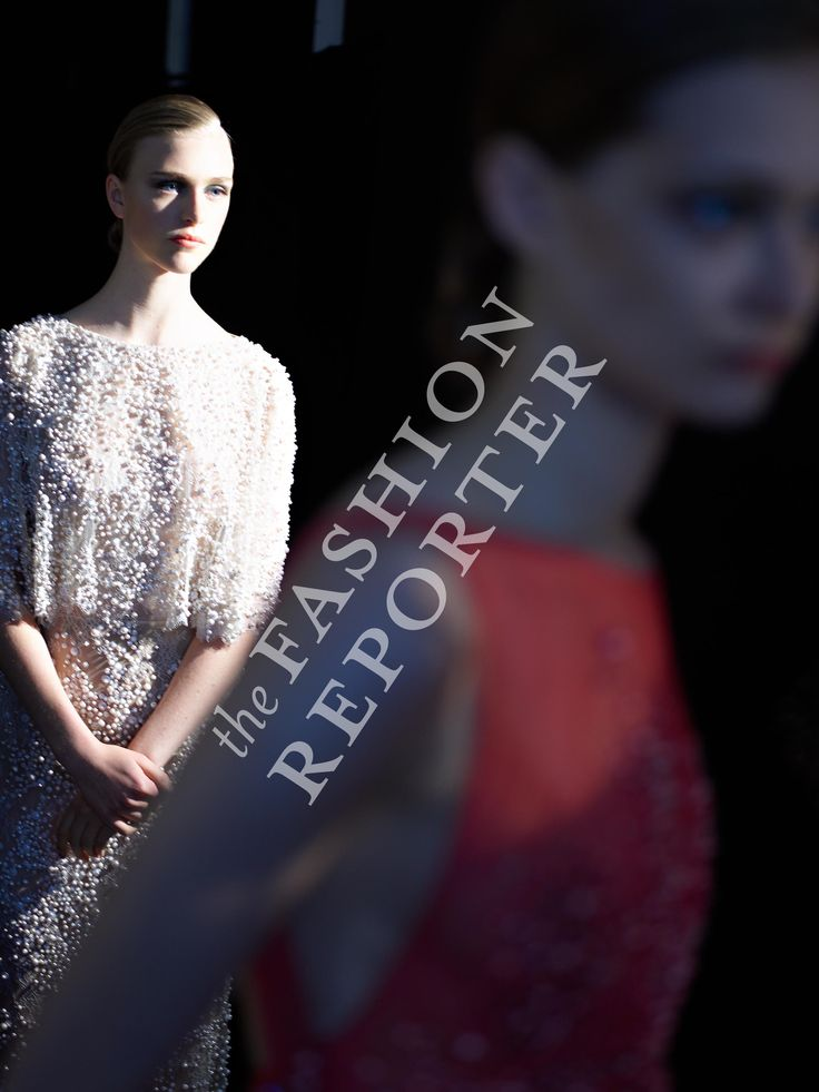 Hedvig Palm at Elie Saab Backstage | Haute Couture FW14-15 | Ph. Antonello Trio