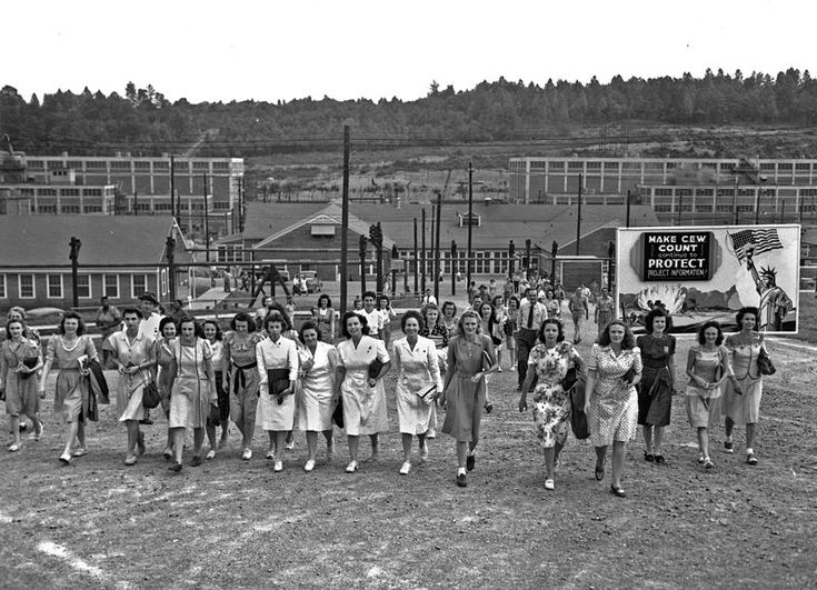 manhattan project manhattan tv show manhattan film  scene of shift change at the uranium enrichment facility in oak ridge tennessee circa 1945