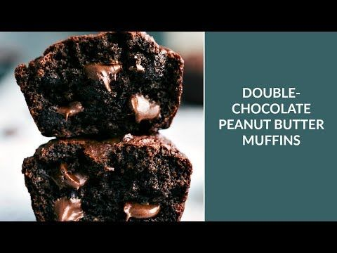 Muffins double chocolat, compote de pommes et yogourt grec - Recettes - Ma Fourchette