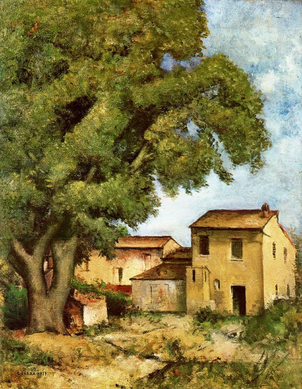 Carlo Carra (1881-1966) - The noon, 1927.