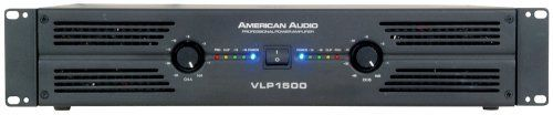 American Audio Vlp1500 Amplifier by American Audio. $329.99. professional amplifier, 750w RMS per channel at 4 ohms, 500 w RMS per ch at 8 ohms (bridge mono, 1500 w RMS per ch @ 8 ohms. Save 38% Off!