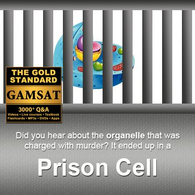 Did you hear about the organelle that was charged with murder? It ended up in a prison cell.