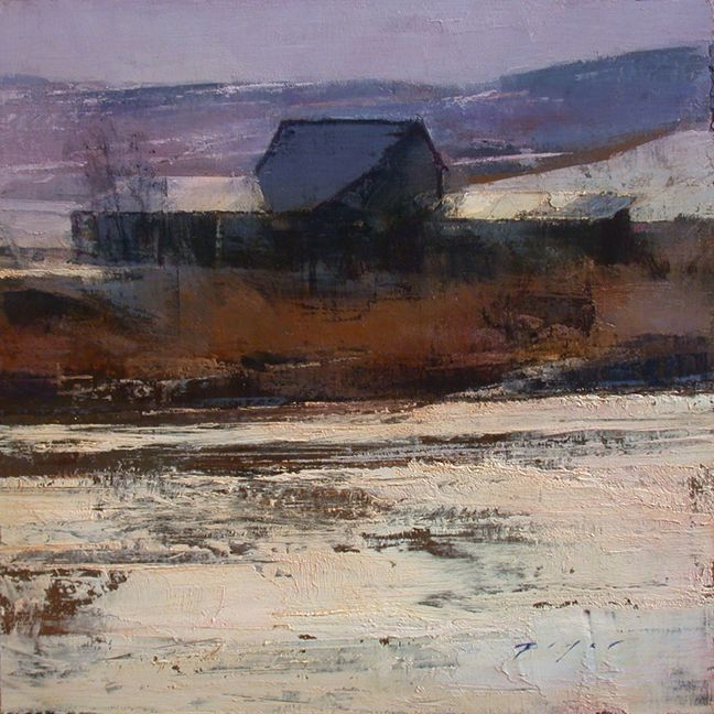 Winter Morning, Cache Valley - Douglas Fryer