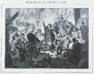 Michal Elwiro Andriolli - Mikołaj Kopernik