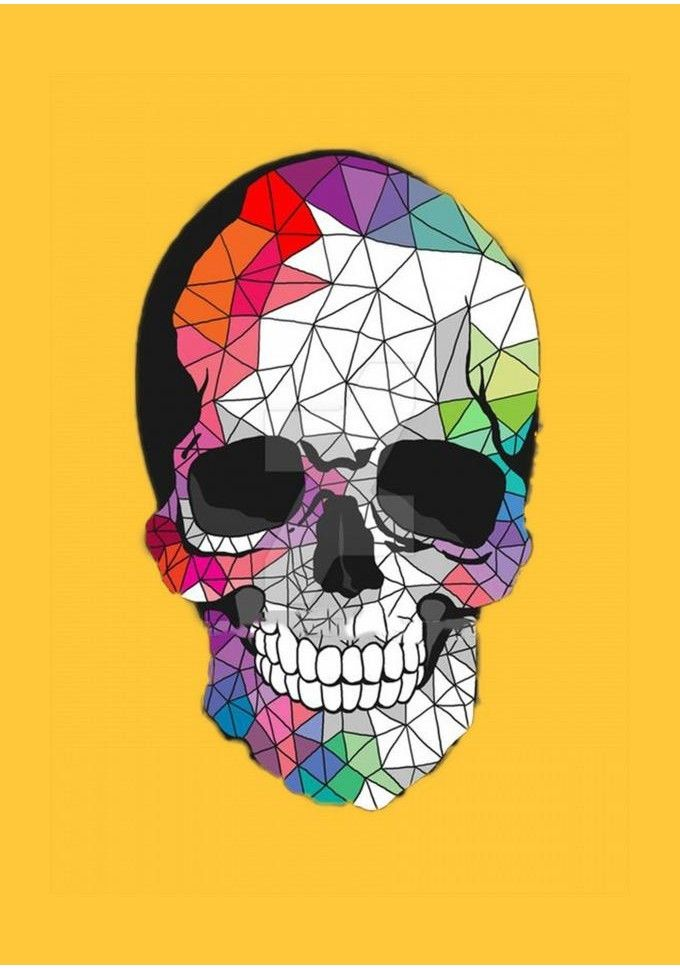 Pin By Jennifer Kurman On Poster Skull Skull Art Skull Wallpaper