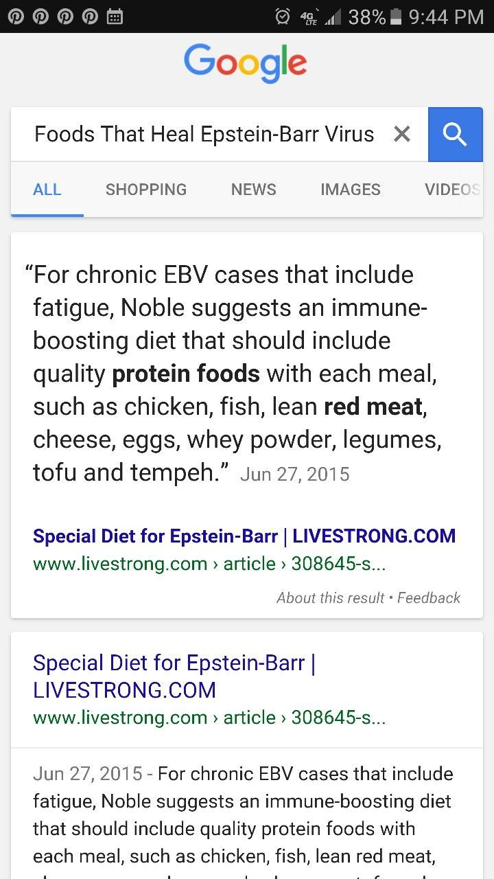 Foods That Heal Epstein-Barr Virus ... Google Search ... Did you know that the root cause of fibromyalgia, multiple sclerosis, thyroid cancer, chronic fatigue syndrome, Hashimoto's thyroiditis, heart palpitations, floaters, blurry vision, dizziness, insomnia, memory loss, rheumatoid arthritis, Raynaud's syndrome, tinnitus, vertigo, hot flashes, brain fog, fatigue, lupus, Lyme disease, insomnia, aches and pains, depression, anxiety, hair loss, weight gain, infertility, (finished in comments)